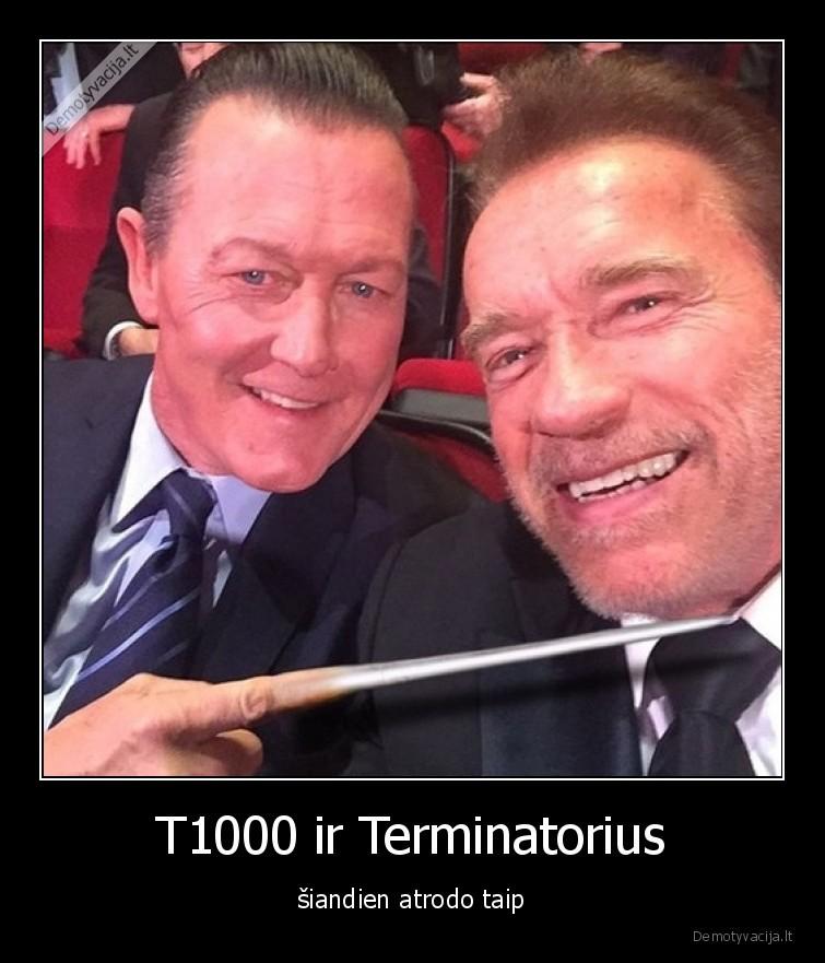 T1000 ir Terminatorius siandien atrodo taip