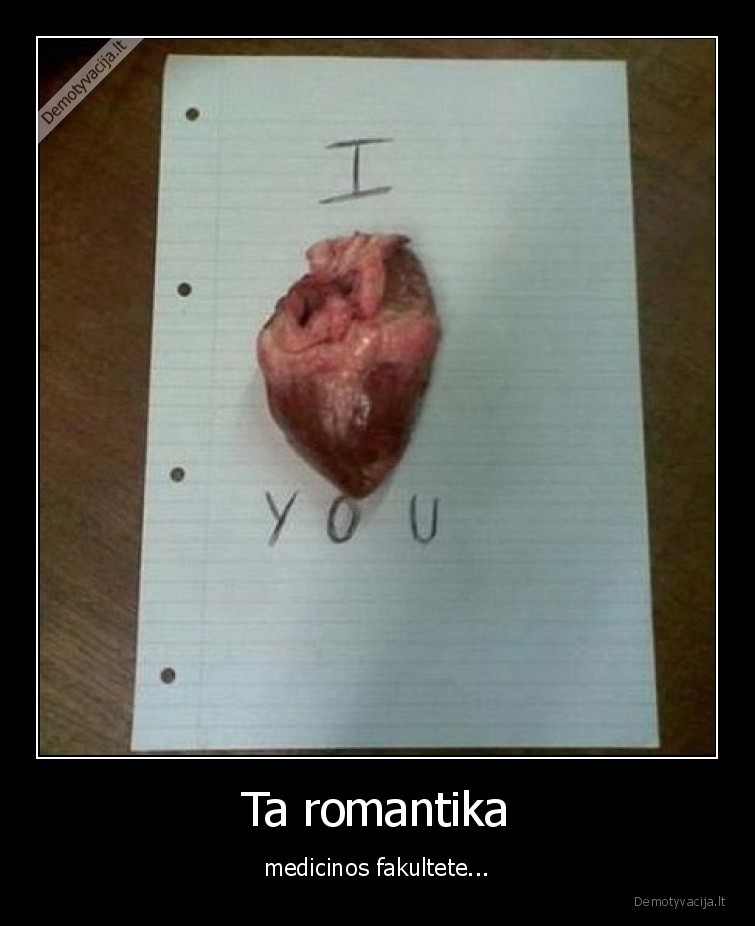 Ta romantika medicinos fakultete