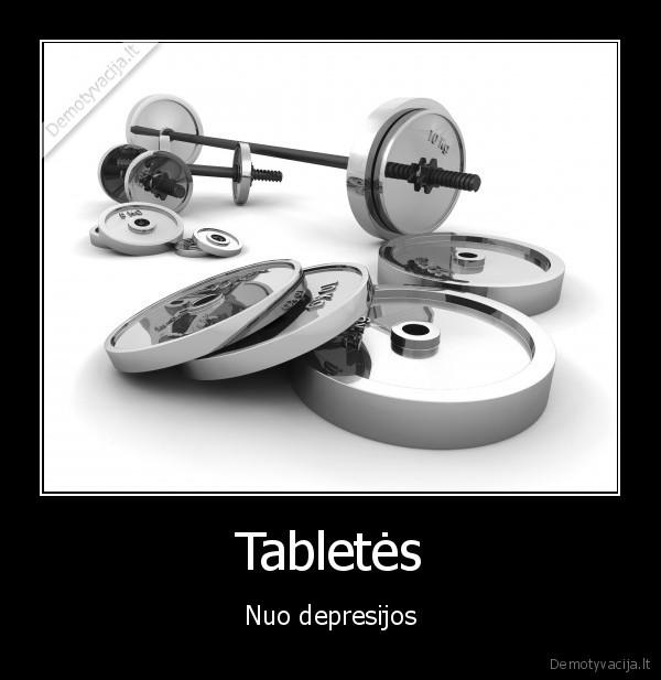 Tabletes Nuo depresijos