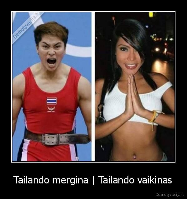 Tailando mergina Tailando vaikinas