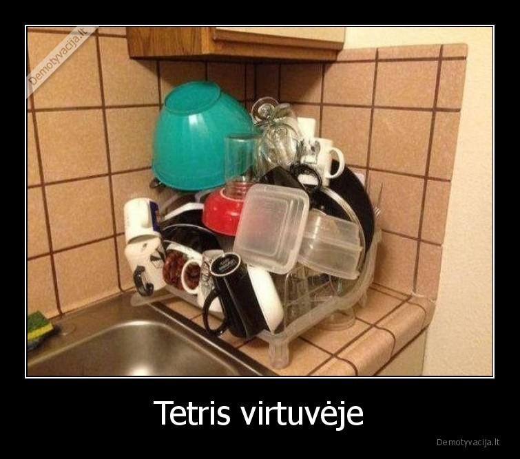Tetris virtuveje