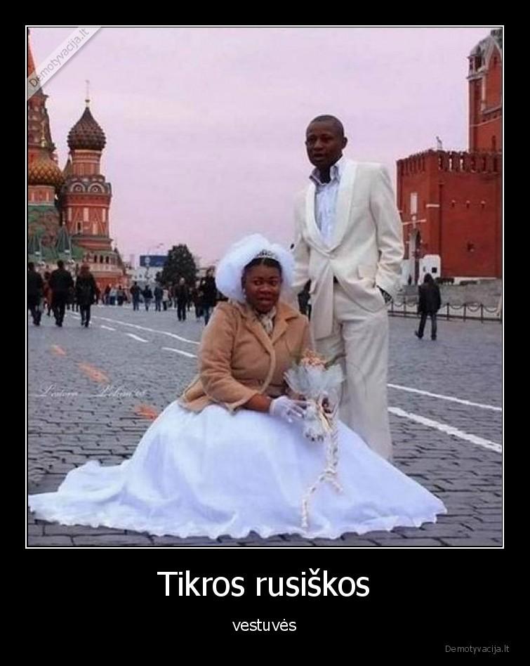 Tikros rusiskos vestuves