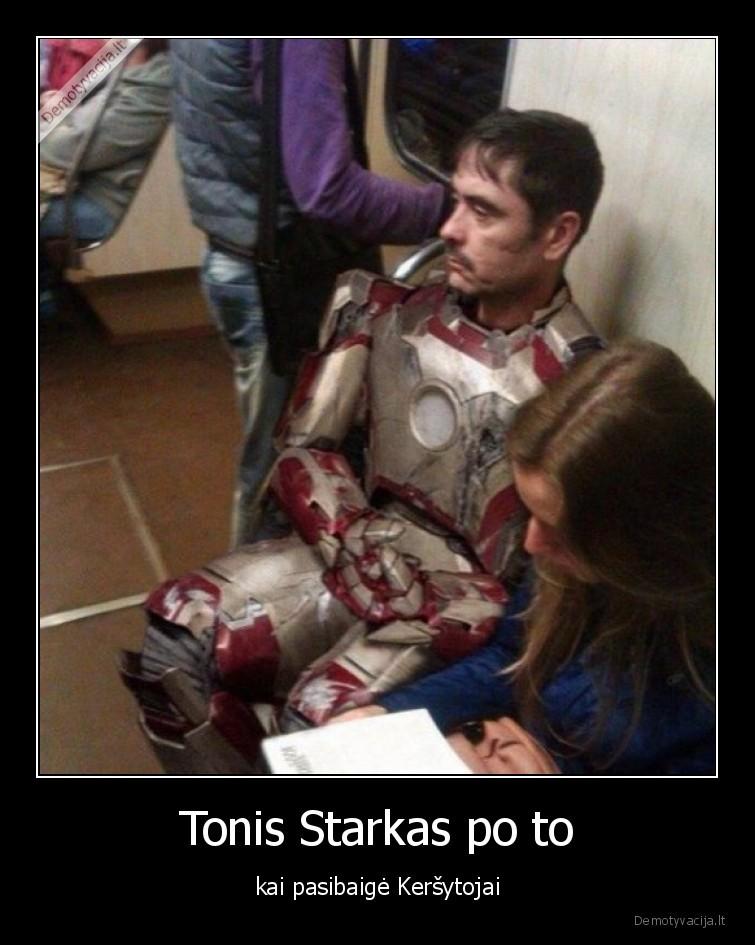 Tonis Starkas po to kai pasibaige Kersytojai