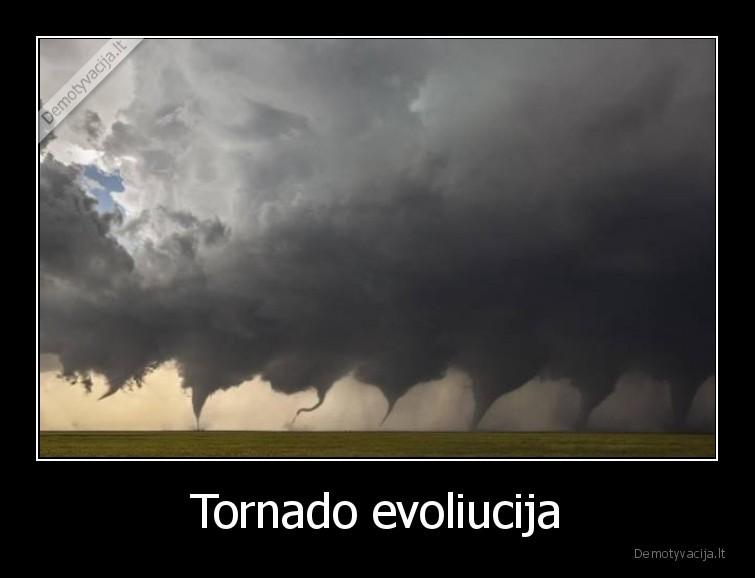 Tornado evoliucija