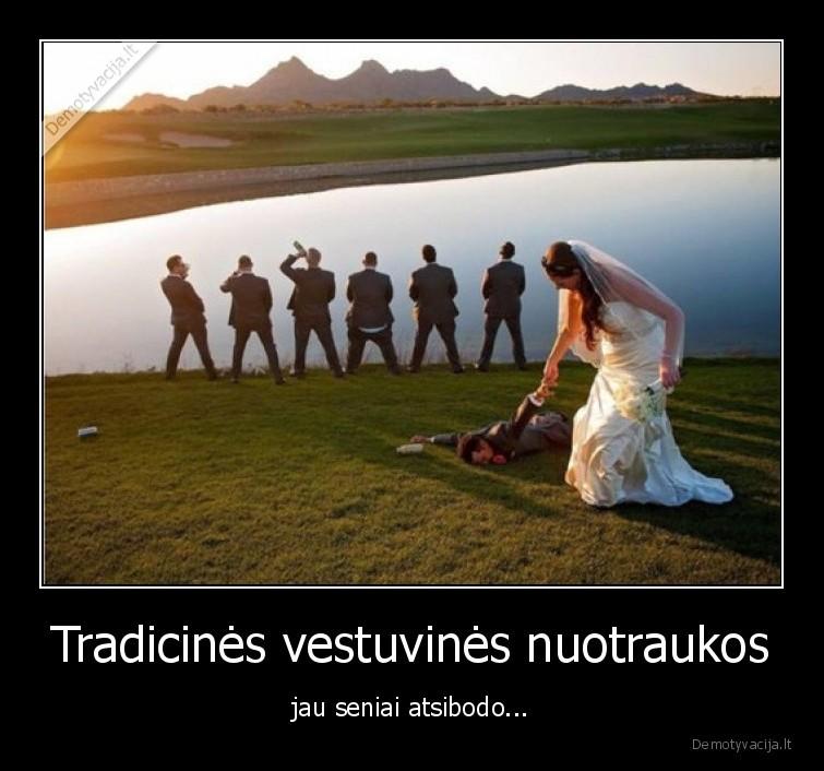 Tradicines vestuvines nuotraukos jau seniai atsibodo