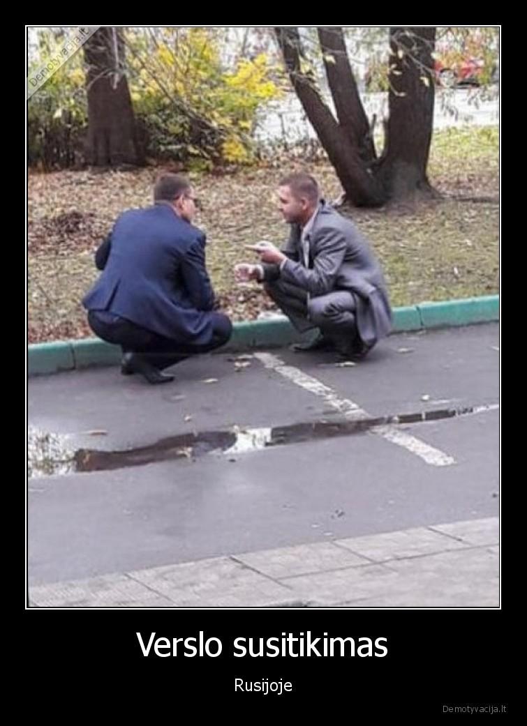 Verslo susitikimas Rusijoje