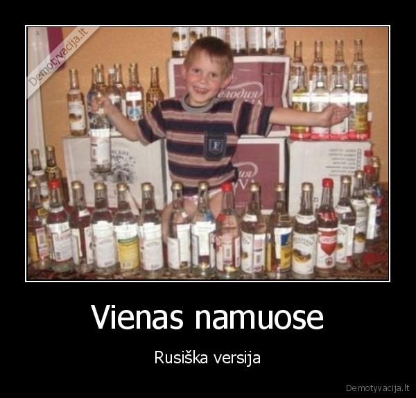 Vienas namuose Rusiska versija