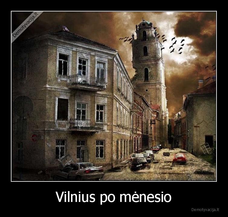 Vilnius po menesio