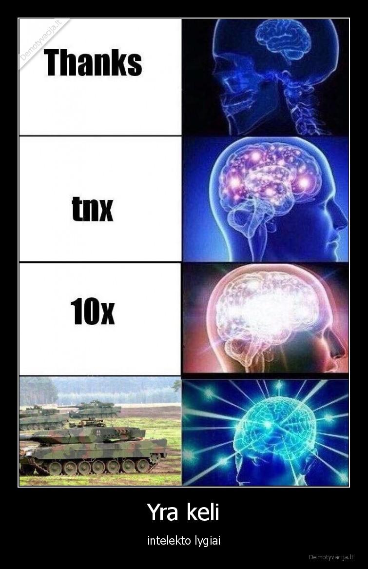 Yra keli intelekto lygiai