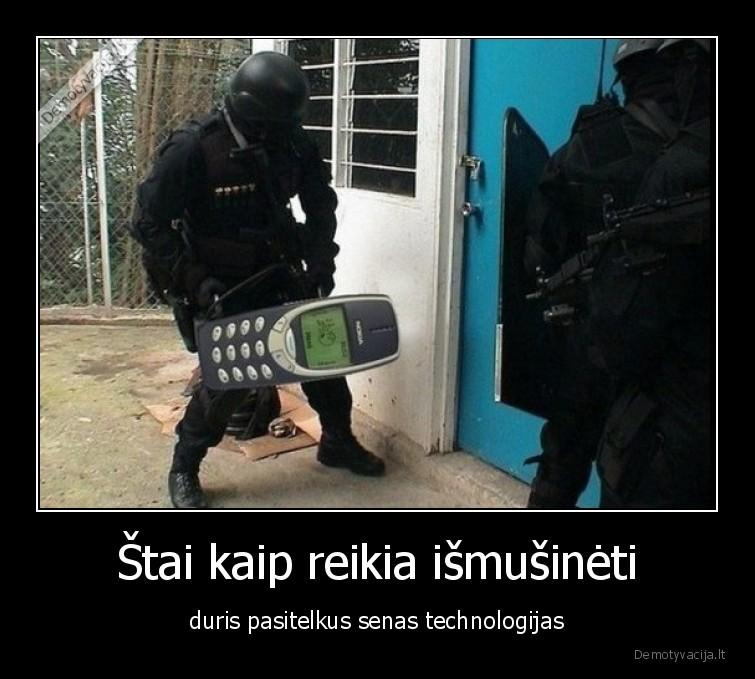 Stai kaip reikia ismusineti duris pasitelkus senas technologijas