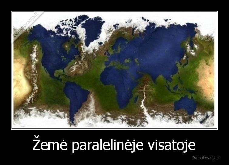 Zeme paralelineje visatoje