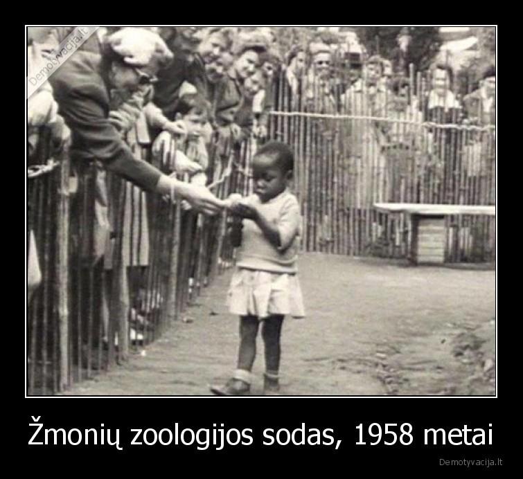 Zmoniu zoologijos sodas 1958 metai