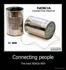 Connecting people - The best NOKIA N99