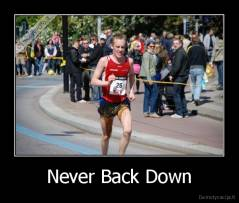 Never Back Down -