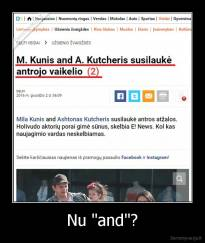 "Nu ""and""? -"