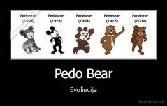 Pedo Bear - Evoliucija