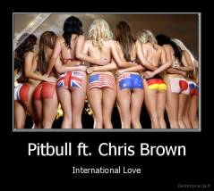 International Love Chris Brown on Pitbull Ft  Chris Brown   International Love